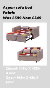 Aspen sofa bed