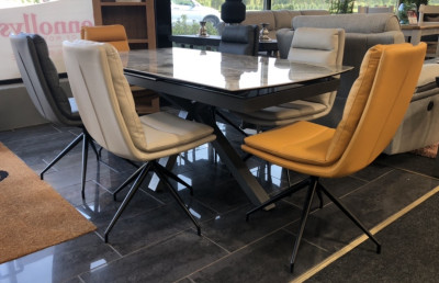 Extending Marble Table