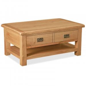 Salisbury Large Coffee Table with Drawer/shelf