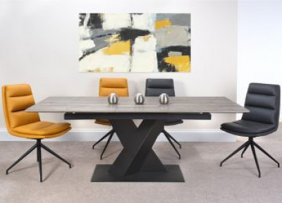 Bronx extending dining table