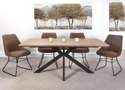Manhattan extending dining table