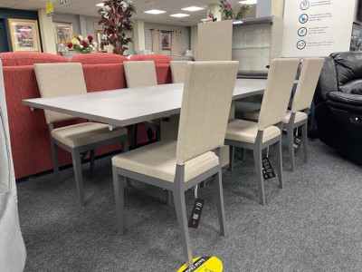 Kali Dining Table and 6 chairs